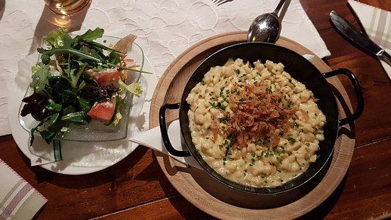 Maishofen, Austria: Local traditional dish