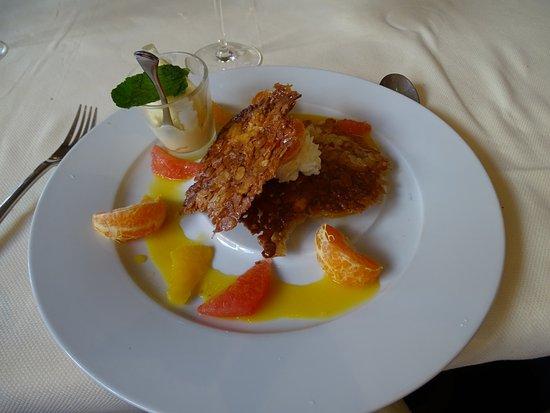 Parcay-Meslay, Francia: dessert