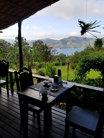 Nuevo Arenal, Costa Rica: Lake view from eating area