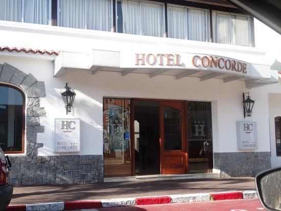 Hotel Concorde: Frente do Hotel