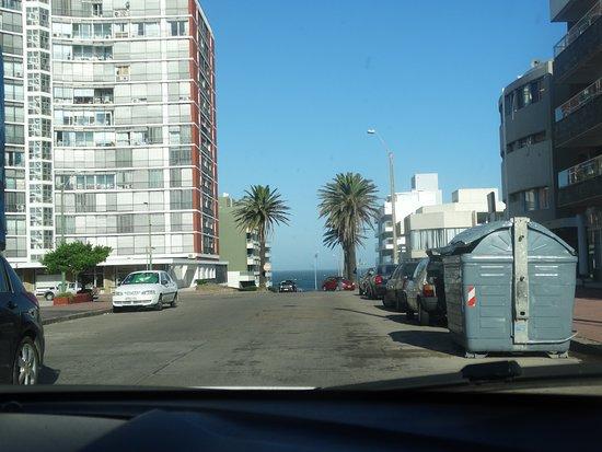 Hotel Concorde: Vista da frente do hotel - Playa Brava