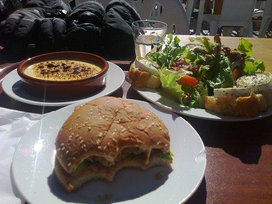 Restaurant d'Altitude Le Grizzli : delicious meal!