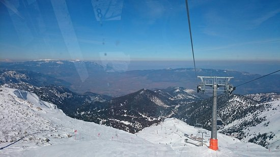 Parnassos, กรีซ: Χιονοδρομικό κέντρο Φτερόλακας Παρνασσού