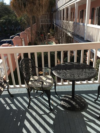 The Meeting Street Inn: Balcony view