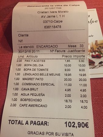 Restaurante La Viña de Calpe: photo6.jpg
