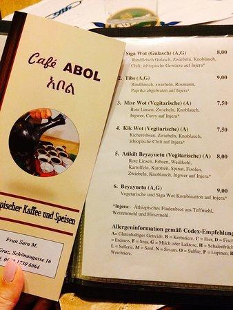 Cafe abol graz restaurant reviews phone number for Abol ethiopian cuisine