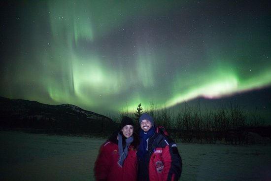 Aurora Borealis & Northern Lights Tours Yukon: Northern lights Febrero 2017