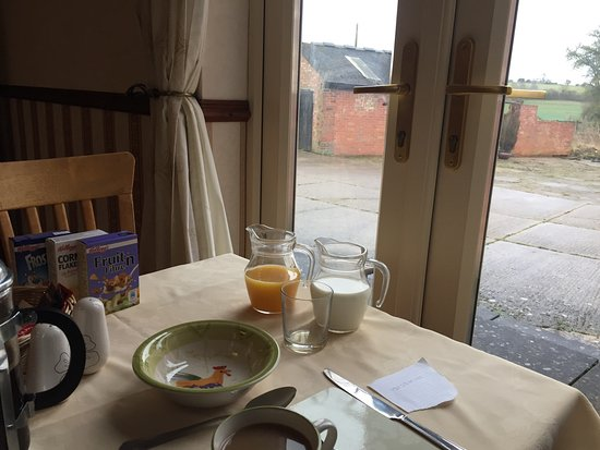 West Haddon, UK: The breakfasts are really , really good.  This is a great place to stay.