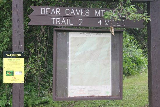 Allegany State Park: Let's go to the Bear Caves
