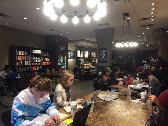 Starbucks Boston 755 Boylston St