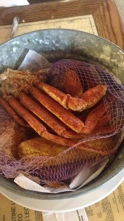 Joe's Crab Shack: Queen Crab with corn and potatos