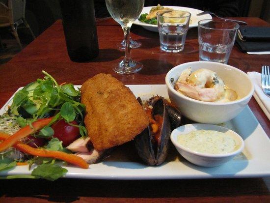 Flinders Chase, Australien: Très bon poisson pané