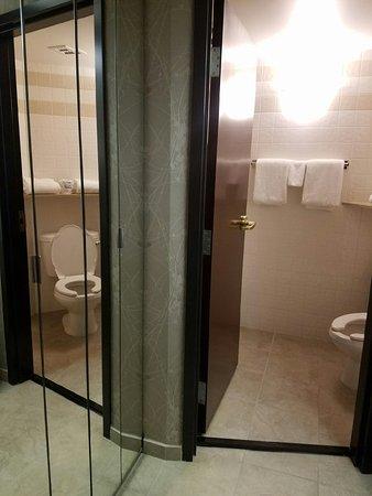 Drury Inn & Suites Greensboro: Very nice clean bathroom!
