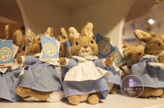Bowness-on-Windermere, UK: 絨毛娃娃商品