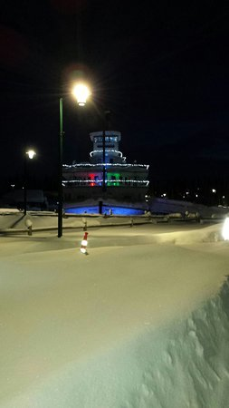 Pioneer Park: So beautiful even at night!