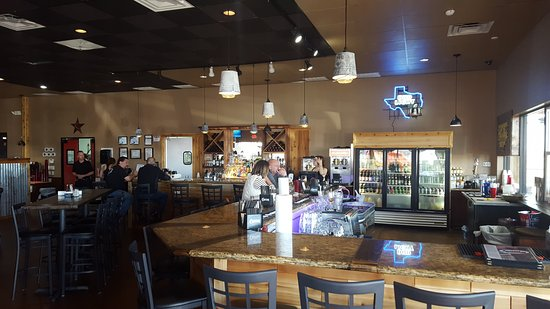 Richmond, TX: The main dining room and bar