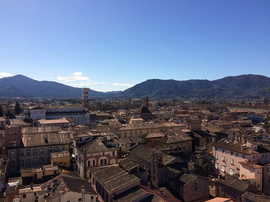 Guinigi Tower: Panorama