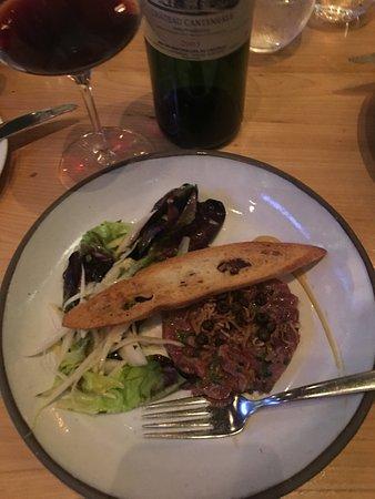 Chez Boulay-bistro boréal: Beef Tartare....decadent