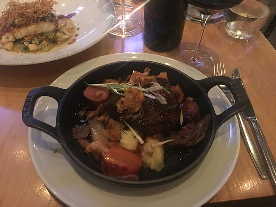 Chez Boulay-bistro boréal : Beef Cheek - Slow cooked over 24 hours. Melts in your mouth with flavours that are a must try!!