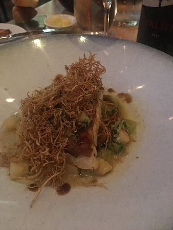Chez Boulay-bistro boréal: Black Cod....mouth watering in a delicious broth.