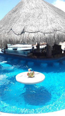 Omni Puerto Aventuras Hotel Beach Resort: Pool/swim-up bar
