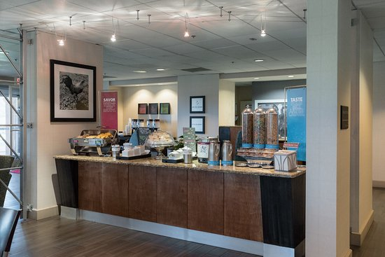 Hampton Inn Brooksville / Dade City: Breakfast Area