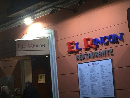 El rincon madrid calle prado 25 huertas restaurant for Calle prado 9 madrid