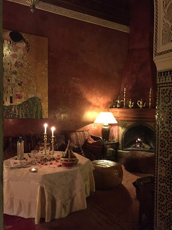 the best dinner in a week - the team of riad samsara is lovely and takes the best care!