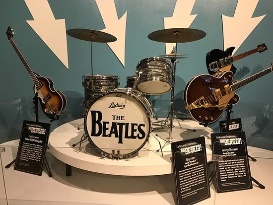William J. Clinton Presidential Library: Ringo's drum kit