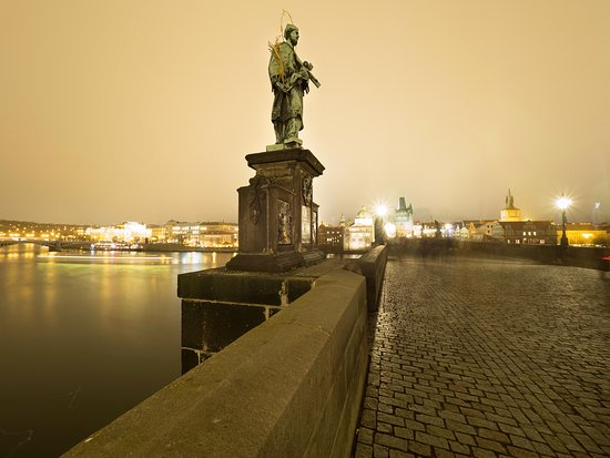 Charles bridge is within a 5 mins walk from the design for Design hotel neruda reviews