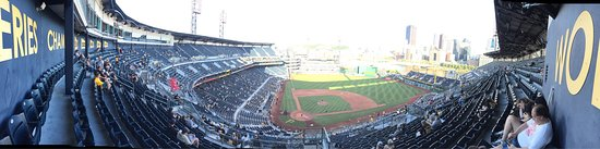 PNC Park: The view is from the upper deck