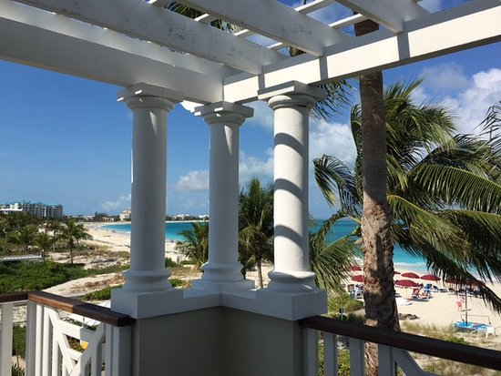 Royal West Indies Resort: View from balcony, room 135