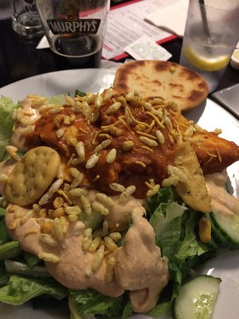 New Minas, Canada: Butter Chicken Salad
