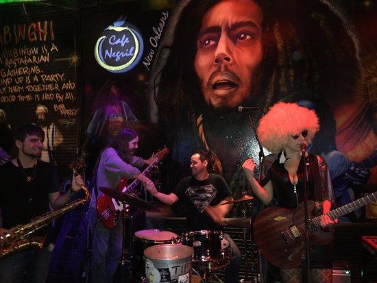 Cafe Negril: Mardi Gras 2017 Dana Abbott Band