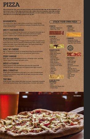 Thousand Oaks, Kalifornia: menu