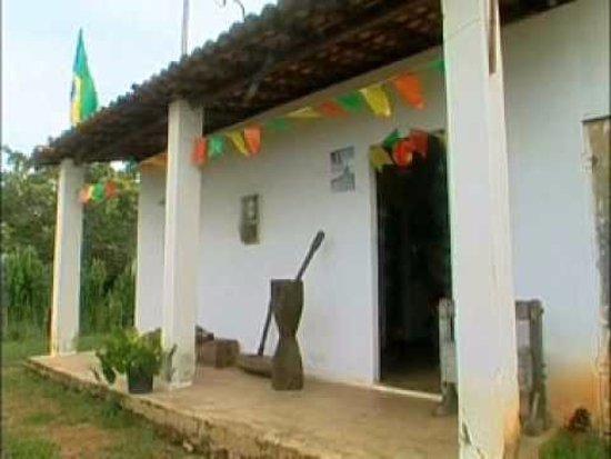 Faixada do museu do cangaço em Alagadiço, Frei Paulo-SE