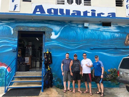 Aquatica Dive and Surf: Aquatica Dive Shop 2017