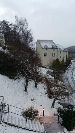Kinloch Rannoch, UK: snowy day