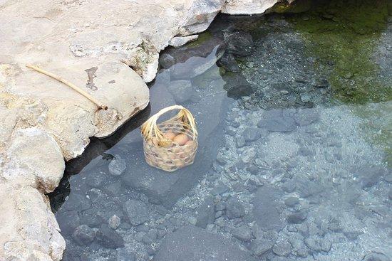 Chae Son National Park : ต้มไข่กัน