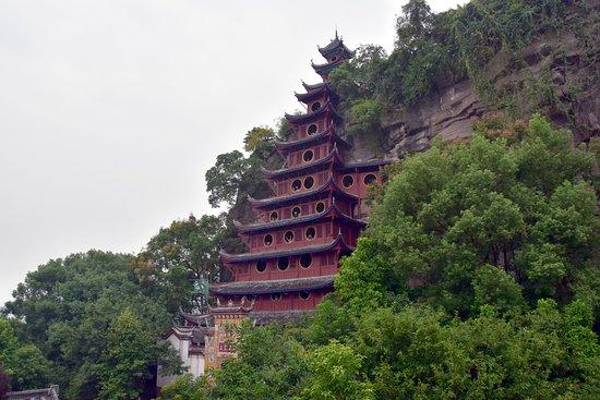 Yangtze River: The Shibaozhai Red Pagoda