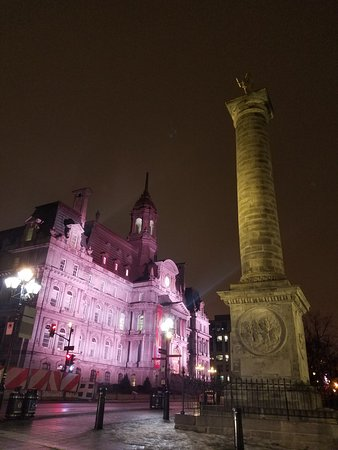 Photo of Monument / Landmark Place Jacques-Cartier at Between Rue Notre-dame And Rue De La Commune, Montreal, Canada