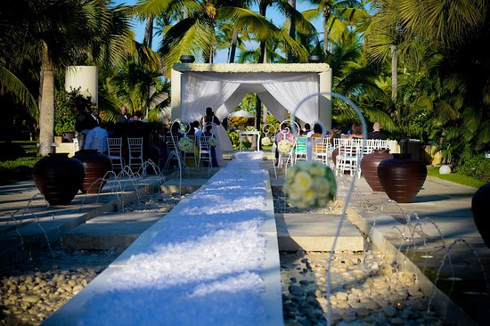 Now Larimar Punta Cana Our Wedding At