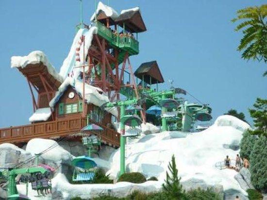 Parque En Pleno Picture Of Disney S Blizzard Beach Water Park