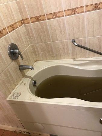 Goya Hot Springs Hotel & Spa: 晚上十點多洗澡發生的