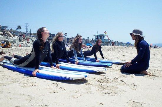 Lezioni di surf a Laguna Beach