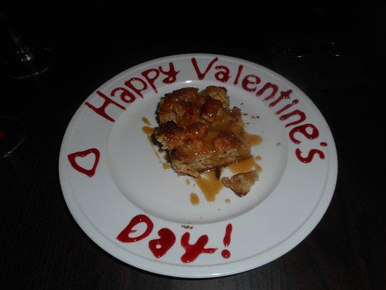 Broussard, LA: Our special Valentine's Day desert.