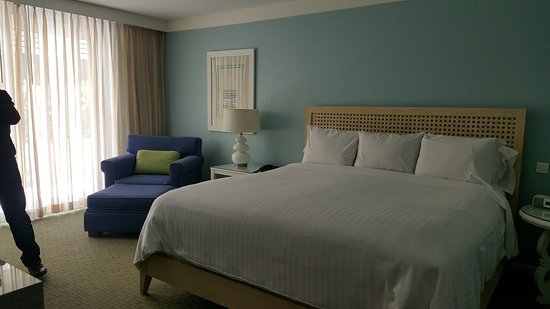 Hotel Riu Palace St Martin: Junior suite with King-size bed