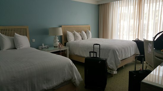 Hotel Riu Palace St Martin: Junior suite with 2 queen-size beds