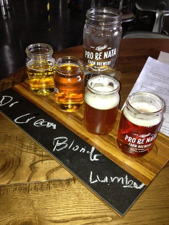 Crozet, VA: beer flight