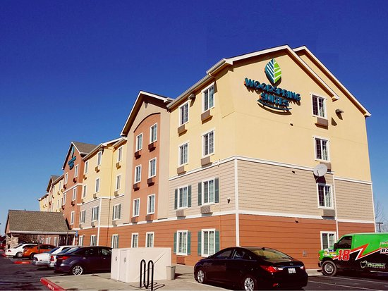 ghetto on steroids - Review of WoodSpring Suites Sacramento